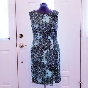 Connected Mint & Black Dress 14